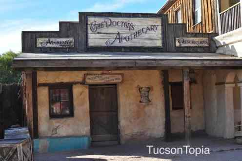 Apothecary at Old Tucson