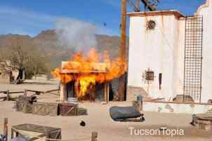 Old Tucson stunt shows
