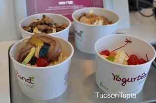 Yogurtland frozen yogurt