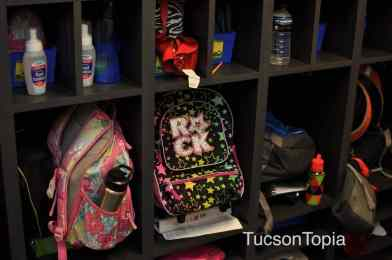 backpacks at BASIS Tucson