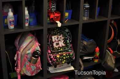 backpacks at BASIS Tucson