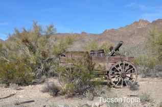 cannon at Old Tucson