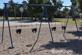 infant swings at Himmel Park
