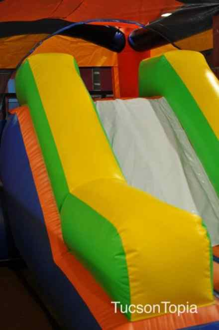 jumping castle slide at AZ Air Time
