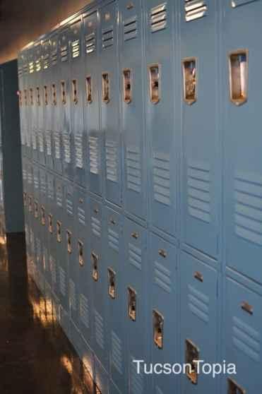 lockers at BASIS Tucson
