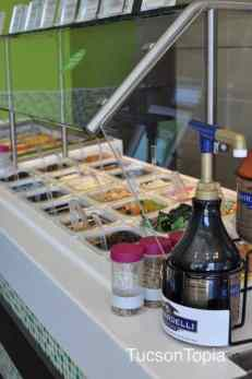 plenty of toppings to choose from at Yogurtland