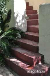 steps at Tohono Chul Park