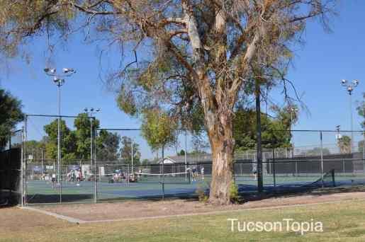 tennis courts at Himmel Park