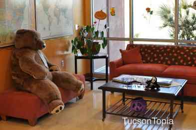 waiting area at Ronald McDonald House Tucson