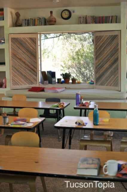 Classroom At Tucson Waldorf School