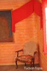 corner chair in Tucson Waldorf School classroom