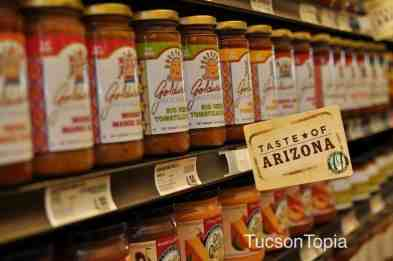 Look for the _Taste of Arizona_ label to find local products at AJ's Fine Foods