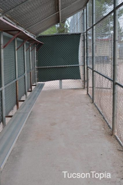 dugout at Michael Perry Park