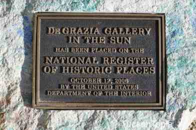 DeGrazia Gallery in the Sun is on the National Register of Historic Places