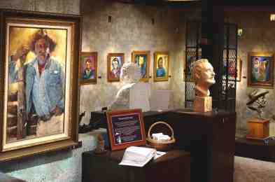 Portraits of Ted DeGrazia at Degrazia Gallery in the Sun