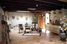 art studio at Degrazia Gallery in the Sun