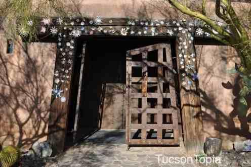 doorway to art gallery