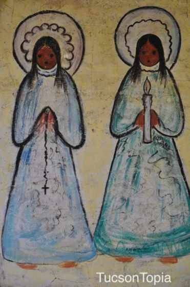 praying by Ettore Ted DeGrazia