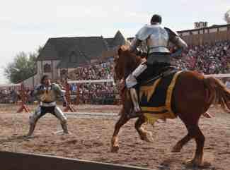 knightly combat