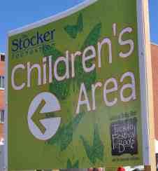 Children's Area Tucson Festival of Books