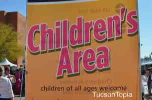 Children's Area at Tucson Festival of Books
