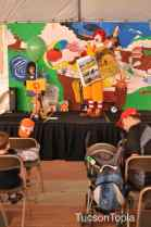 Ronald McDonald on stage at Tucson Festival of Books