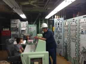 Kids on a Tour at Titan Missile Museum