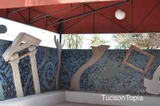 covered outdoor space at Tucson Museum of Art