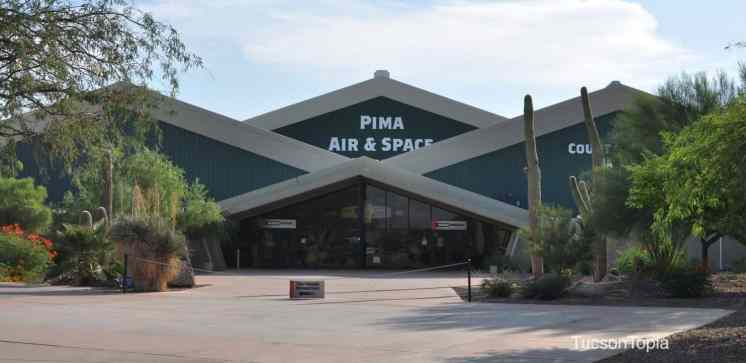 Pima Air _ Space Museum entrace