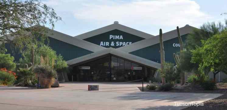 Pima Air _ Space Museum entrace
