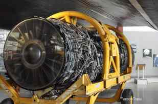 engine at Pima Air _ Space Museum