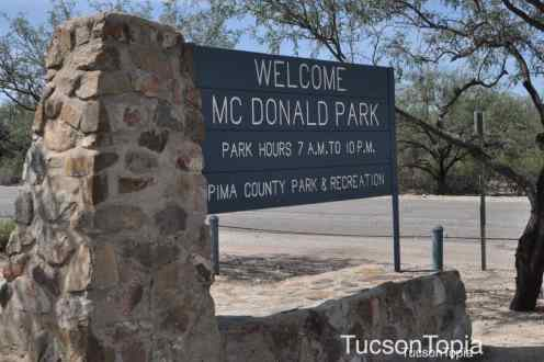 McDonald Park in NE Tucson