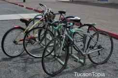 bicycles outside the UA Poetry Center