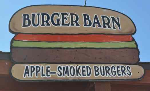 Burger Barn at Apple Annie's
