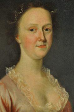 lady at UA Museum of Art