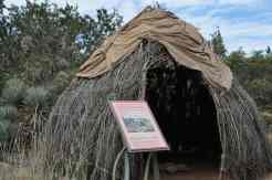 home exhibit at Desert Botanical Garden