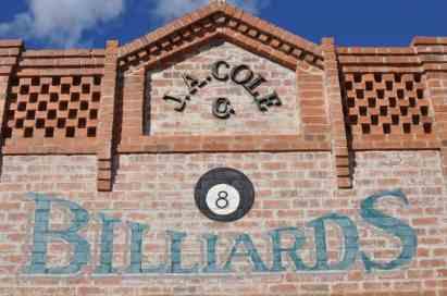 Billards at Trail Dust Town