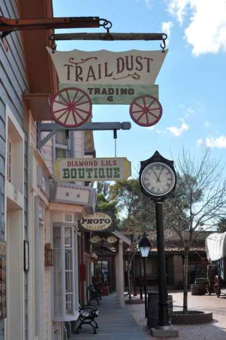 Trail Dust Town shops