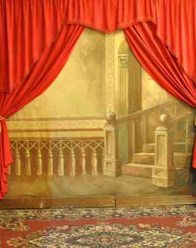 backdrop at Barking Iron Old Time Photo