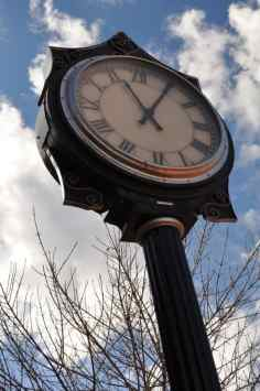 clock at Trail Dust Town