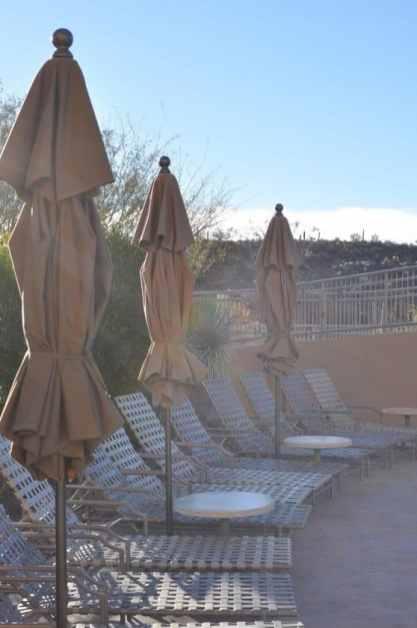 soaking up the sun at JW Marriott Tucson Starr Pass