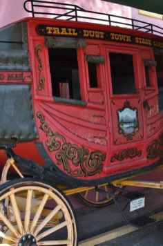 stage coach at Trail Dust Town