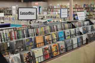 CDs and cassettes at the Book Barn