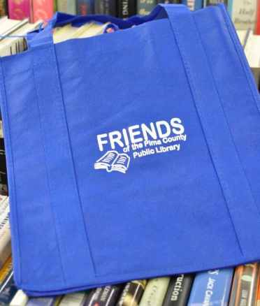 Friends of the Pima County Public Library book bag