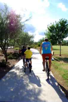 bike riding in Ranxho Sahuarita