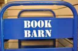 blue Book Barn cart