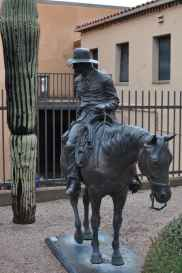 cowboy at Tucson Museum of Art