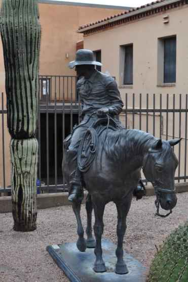 cowboy at Tucson Museum of Art