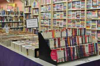 paperback fiction at the Book Barn