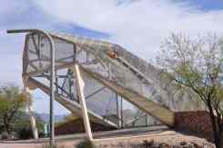 ride thru Rattlesnake Bridge in Tucson